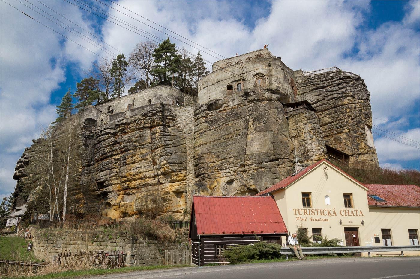 Чехия, cкальный замок Слоуп
