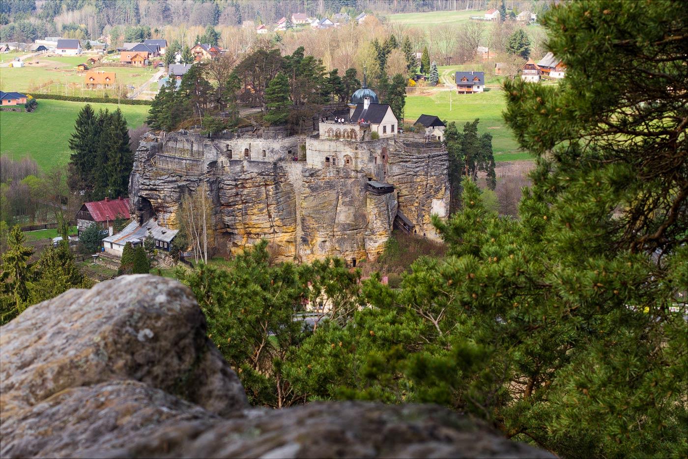 Скальный замок Слоуп