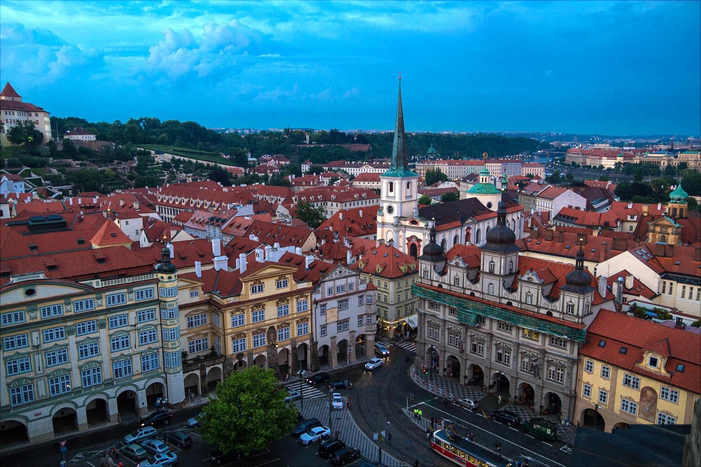 Музейная ночь в Праге