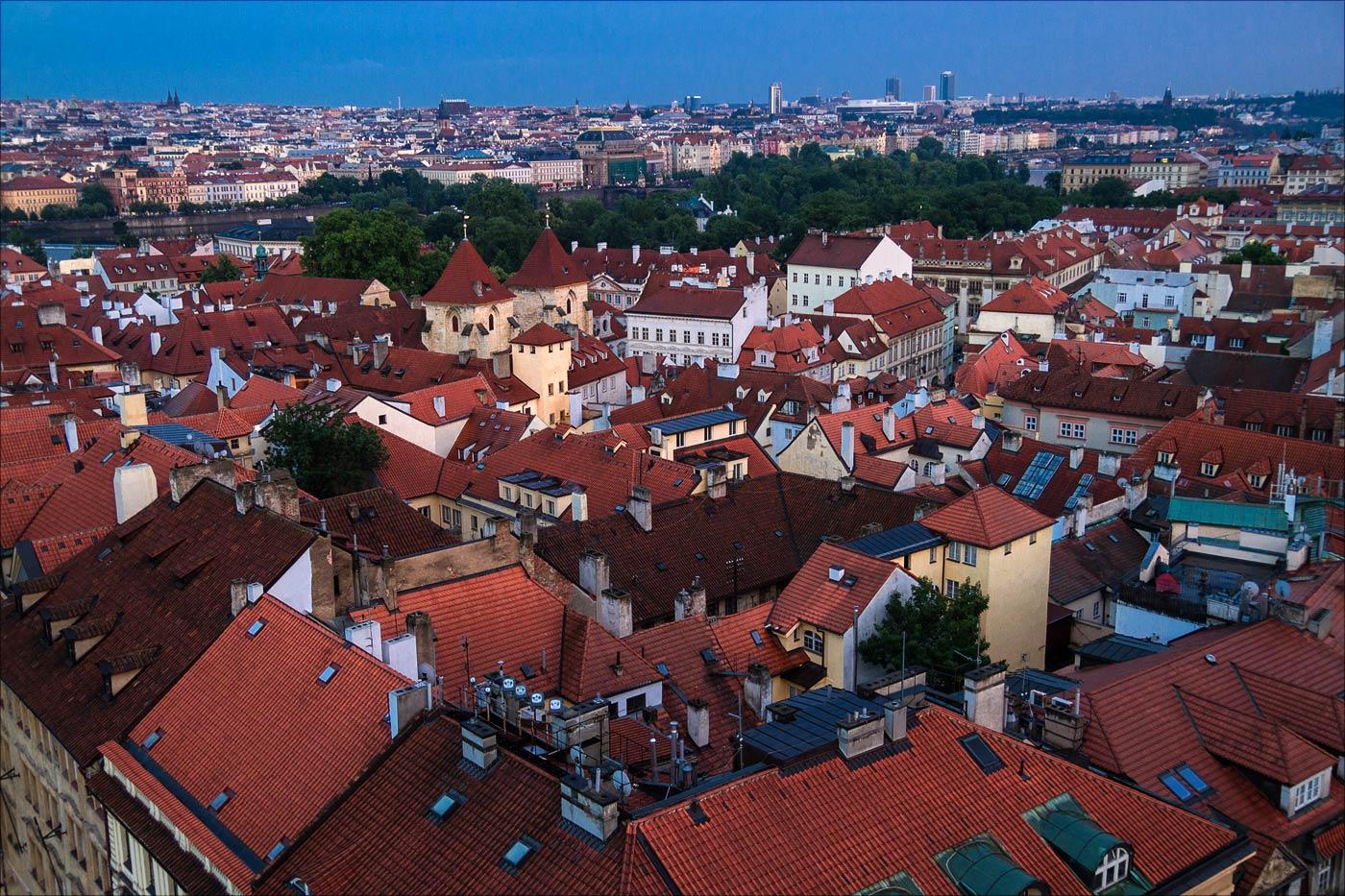 Прага после дождя