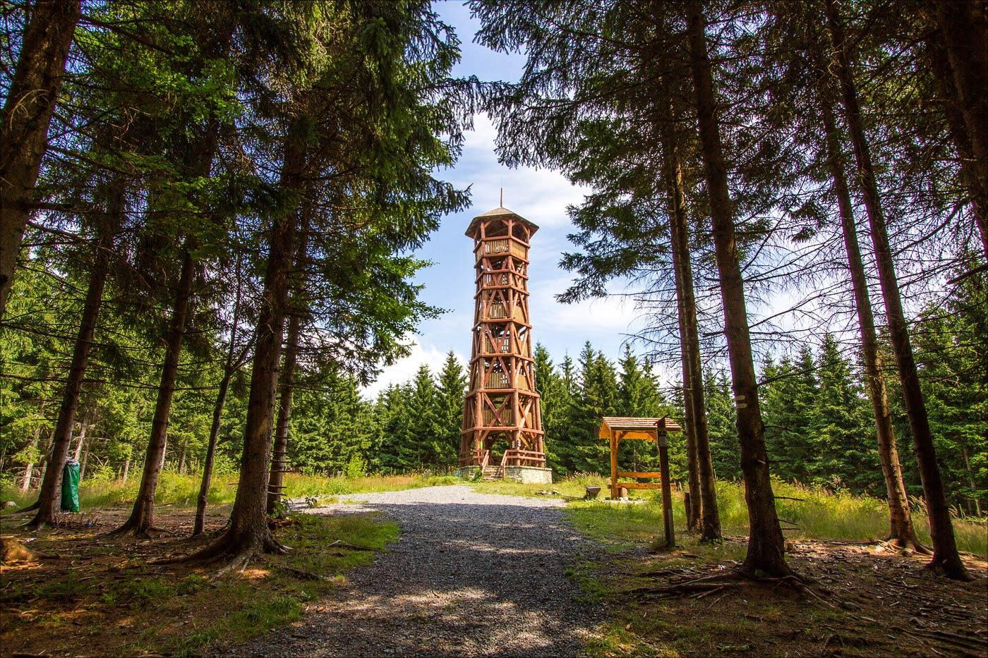 Смотровая башня Миловна, Восточная Моравия