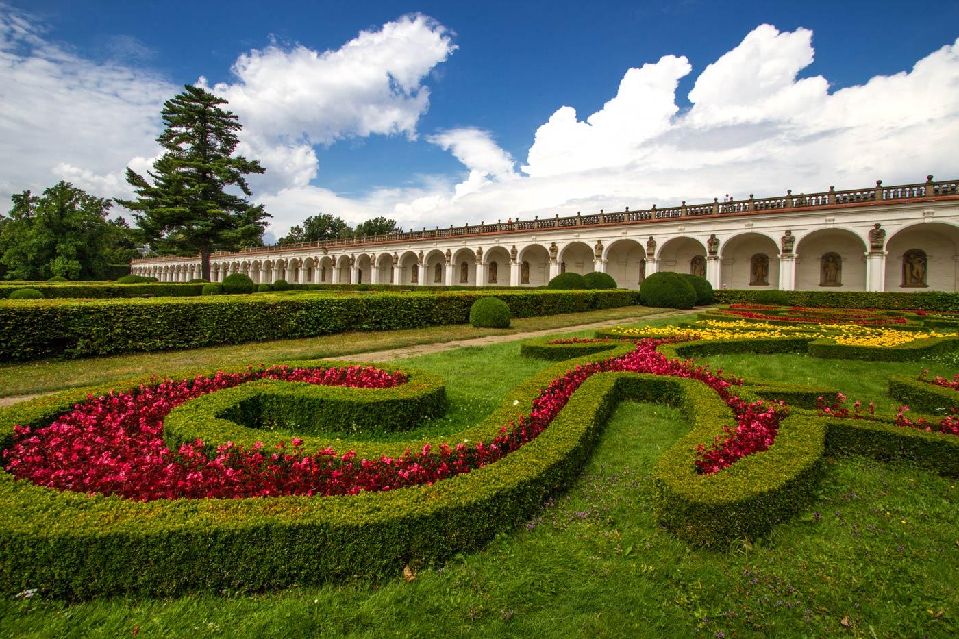 Цветочный парк в Кромержиже