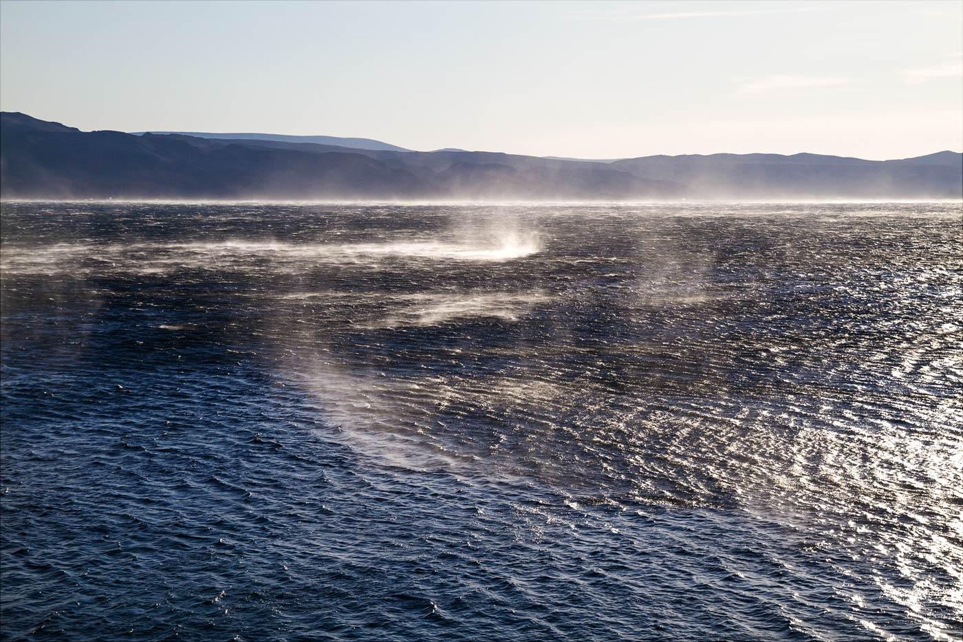 Водяные вихри на заливе, Хорватия