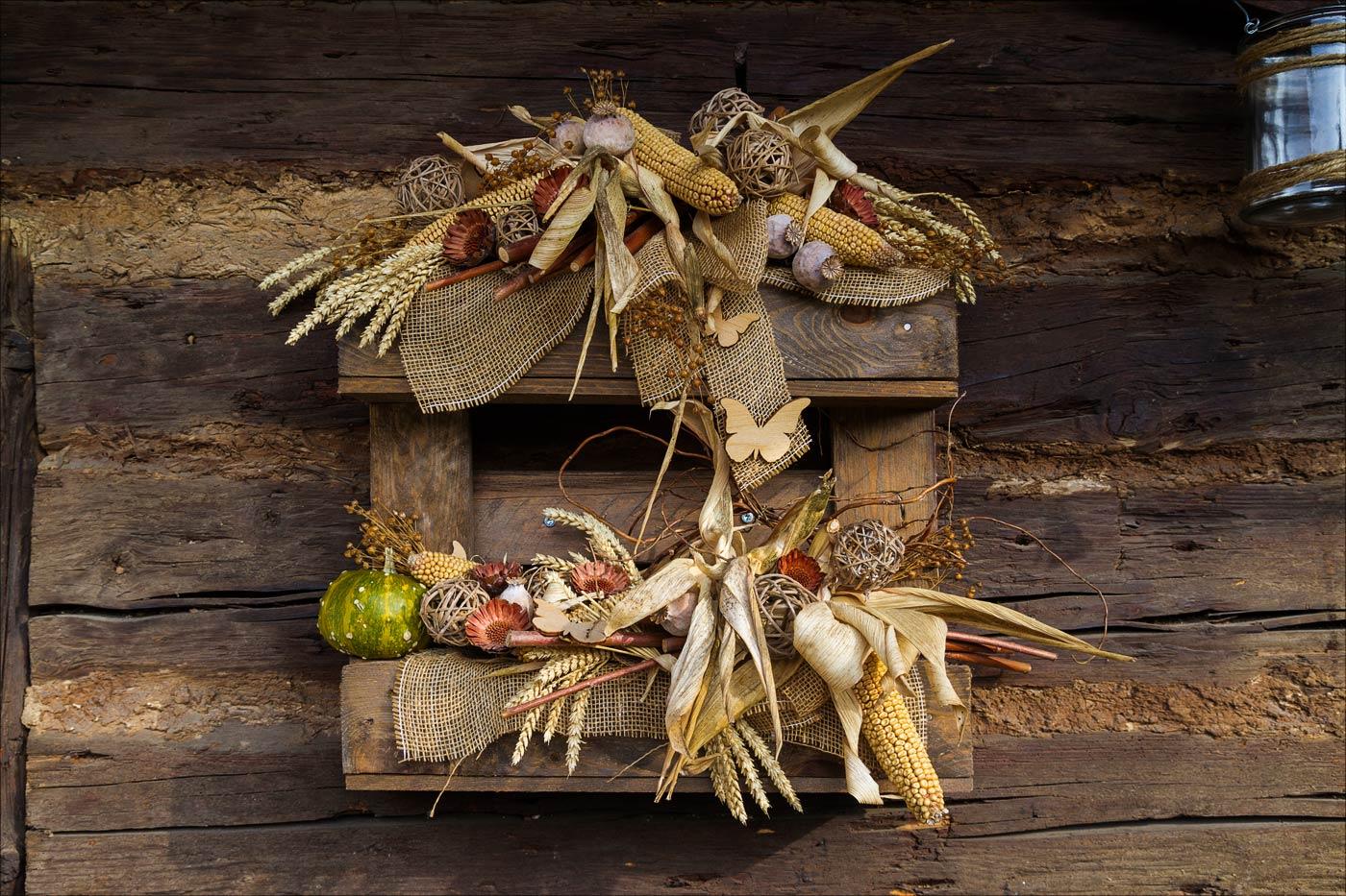 Осенние декорации