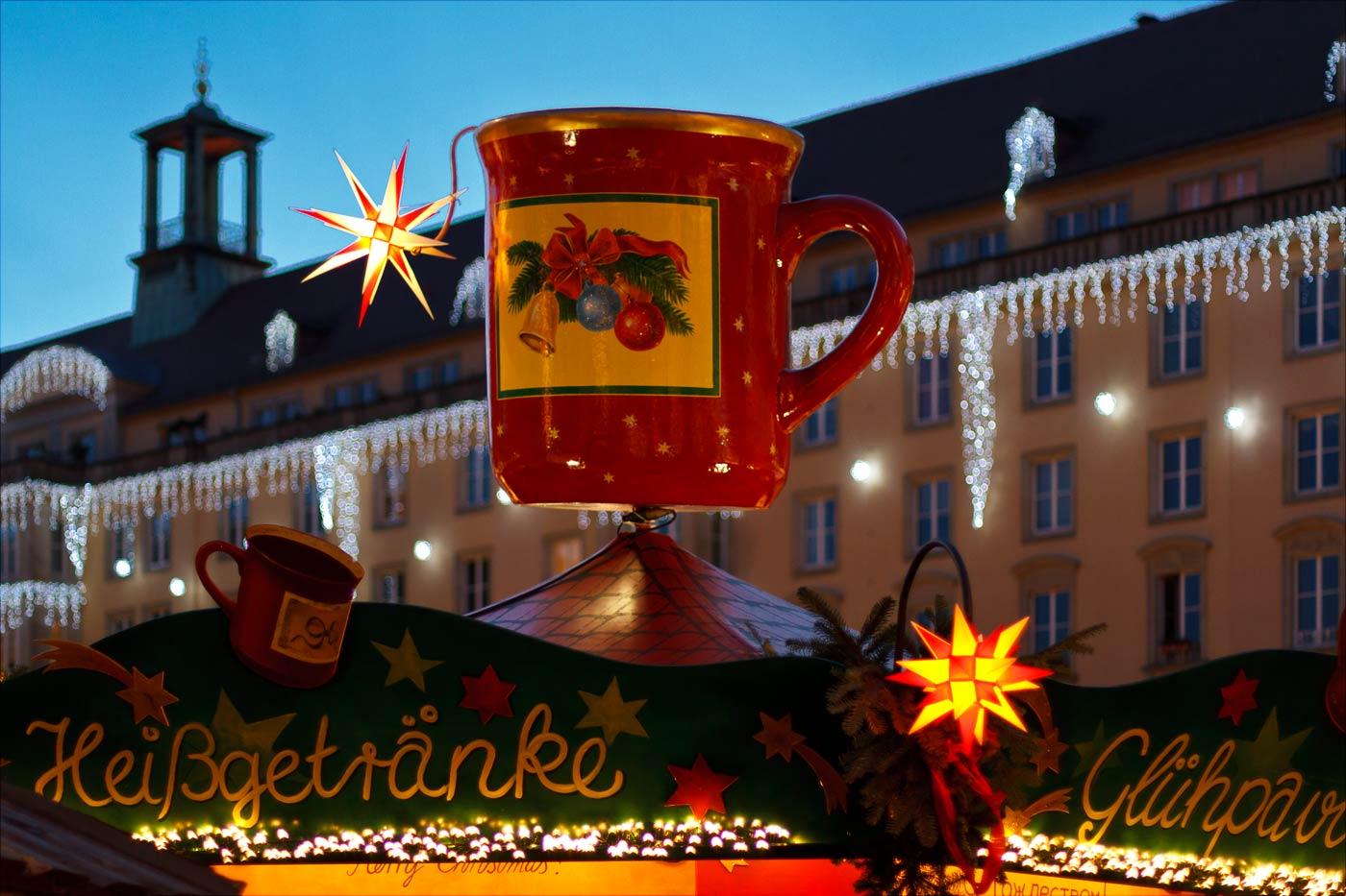 Адвентная ярмарка, Дрезден, Германия