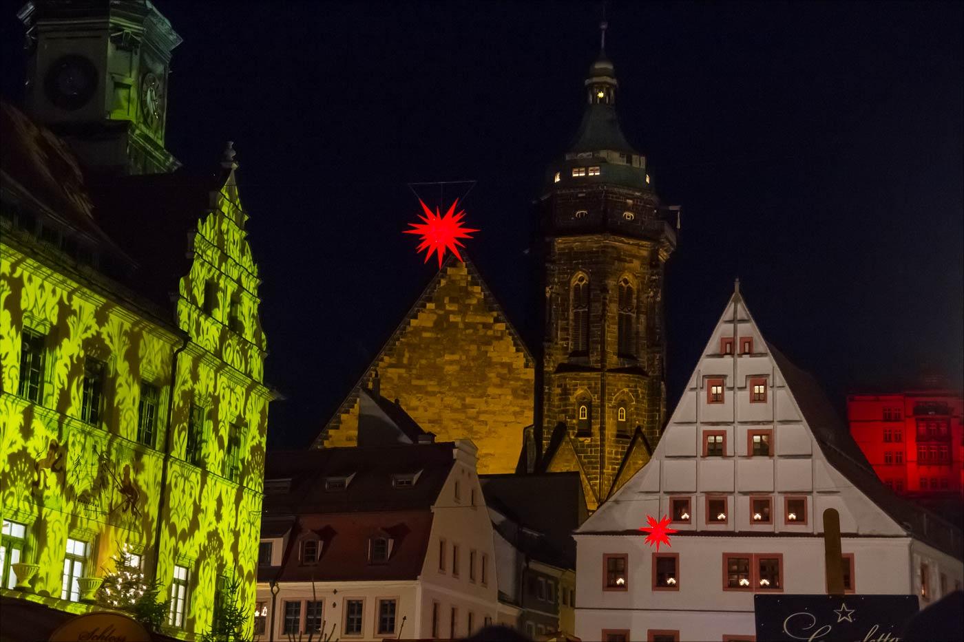Адвентная иллюминация, Пирна, Германия