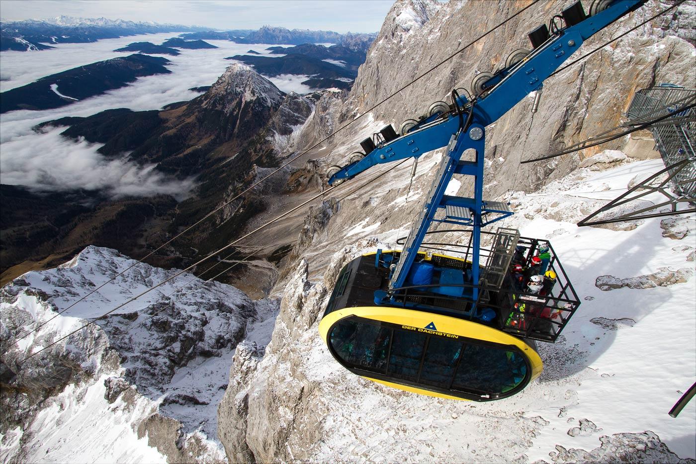 Горный массив Дахштайн, Австрийские Альпы