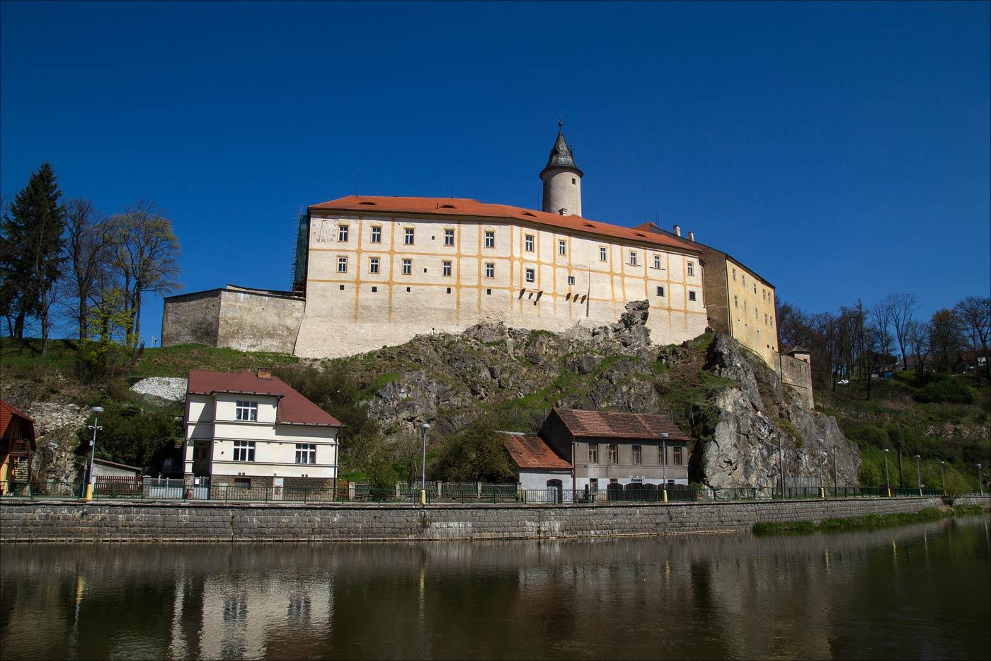 Чешские замки на реке Сазаве - Ледец над Сазавой