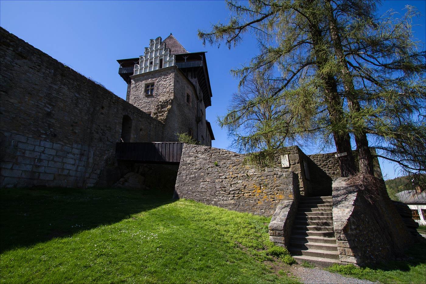 Замки на Сазаве - Липнице над Сазавой