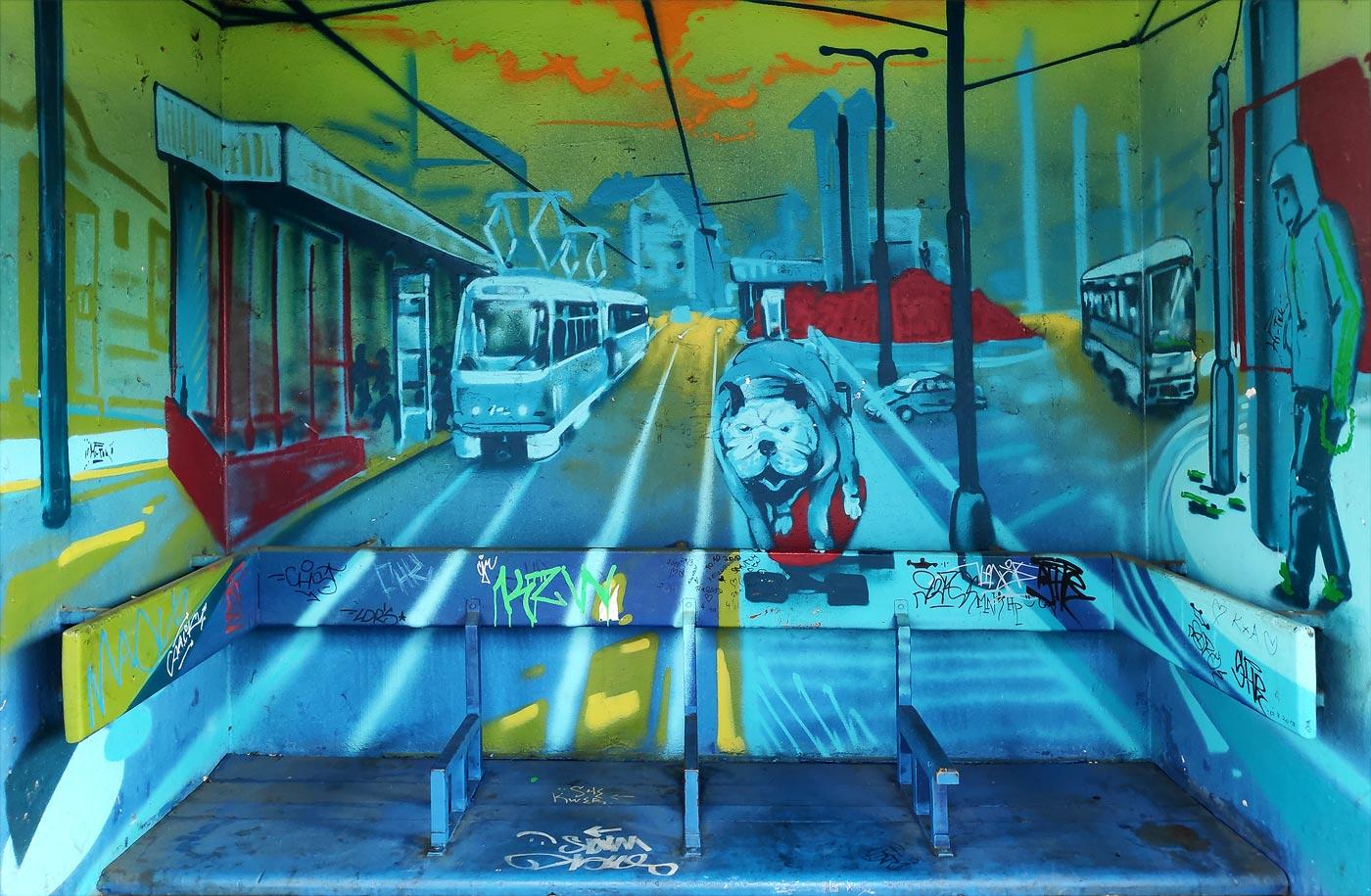 Пражские граффити