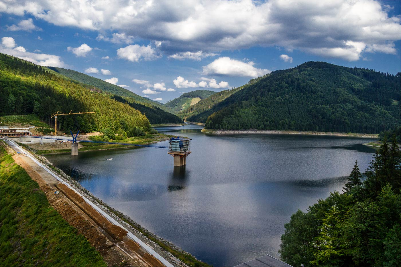Водохранилище Шанце в Моравии