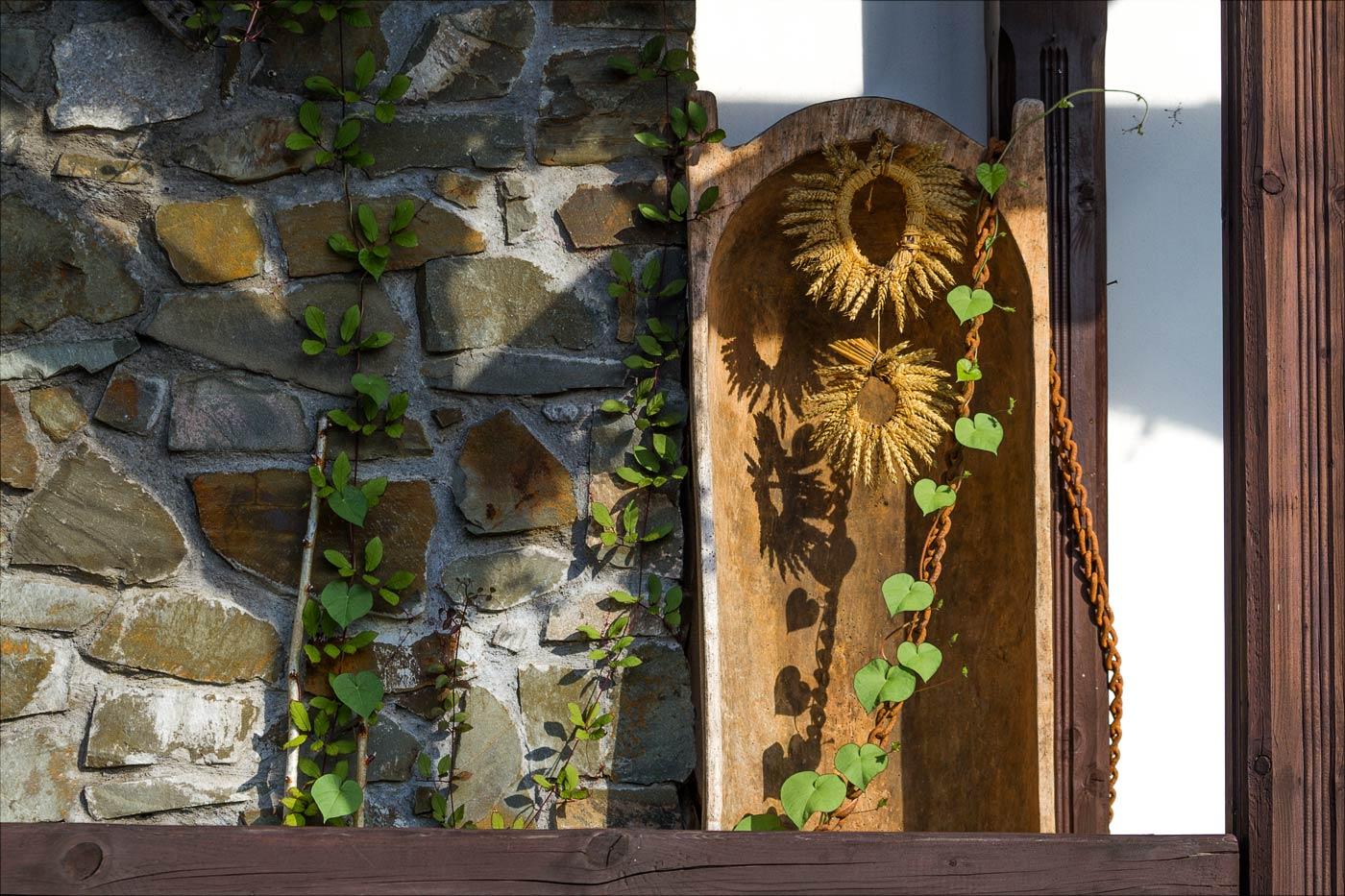 Декорации в пансионе Брусенка в Моравии