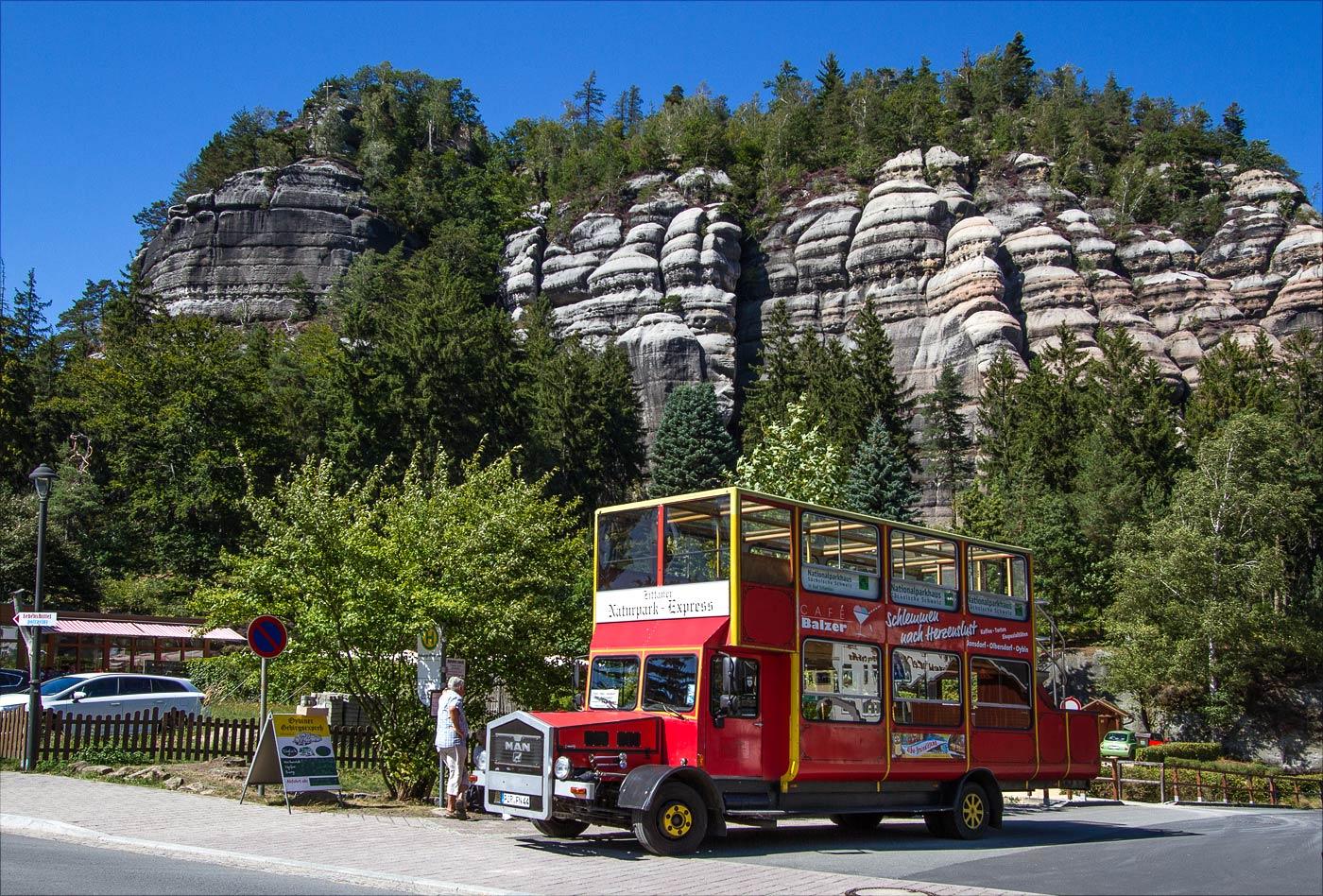 Саксонский горный курорт Ойбин