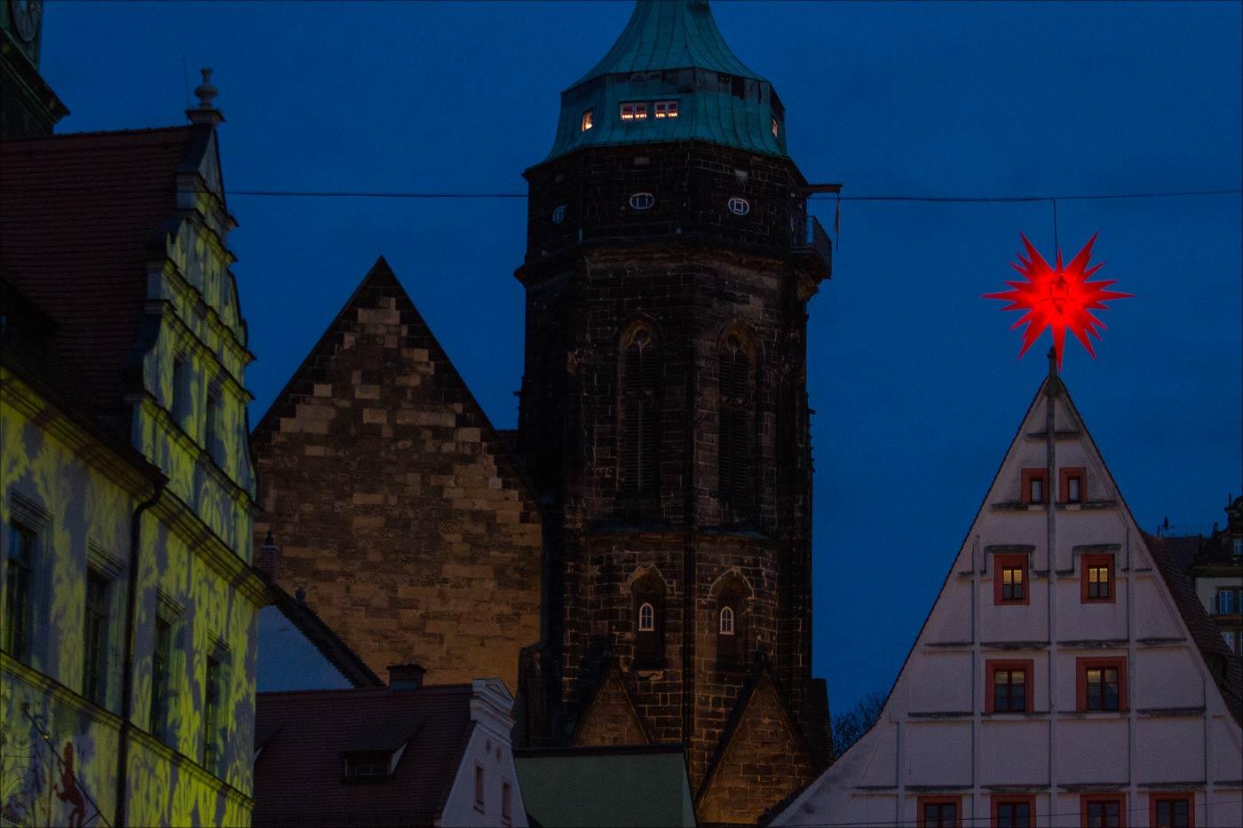 Ночная Пирна, Германия