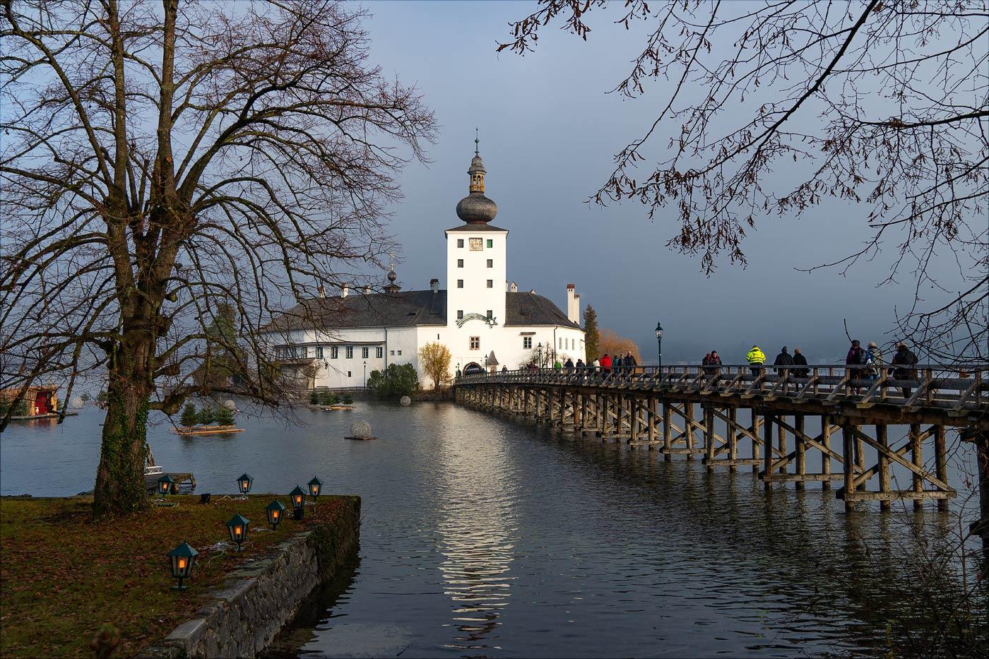Гмунден, замок Орт