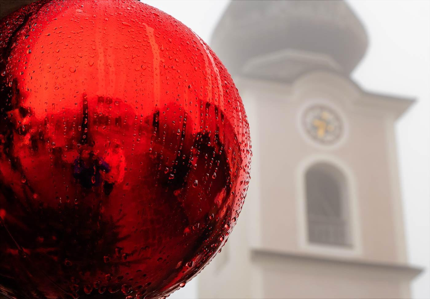 Дождливый адвент в Австрии