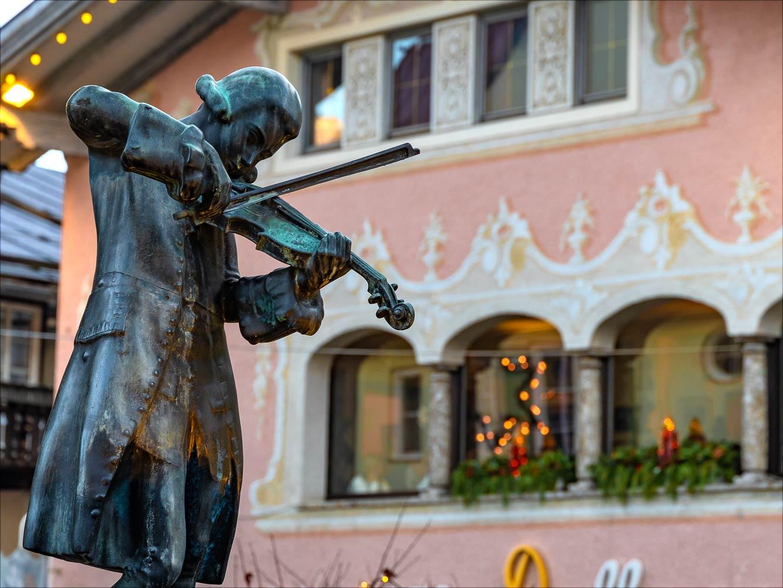 Моцарт, Санкт-Гильген, Австрия