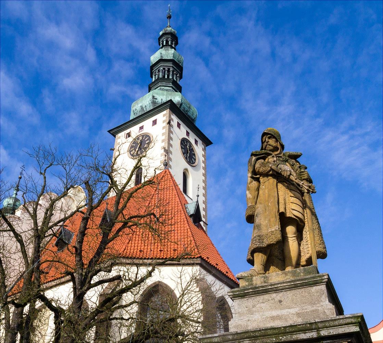 Памятник Яну Жижке в Таборе