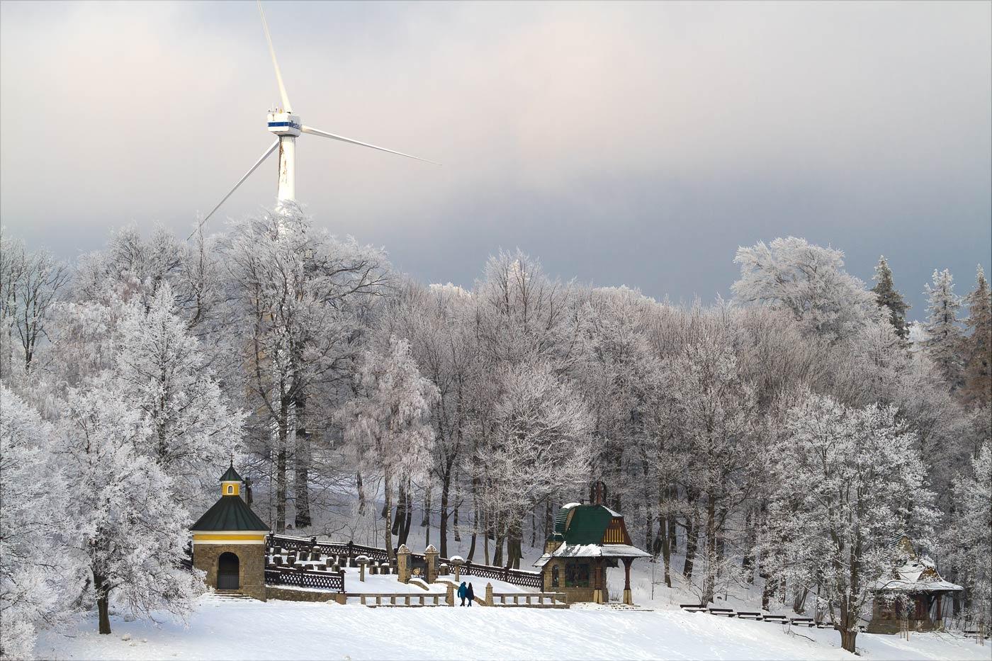 Гора Святой Гостин в Моравии