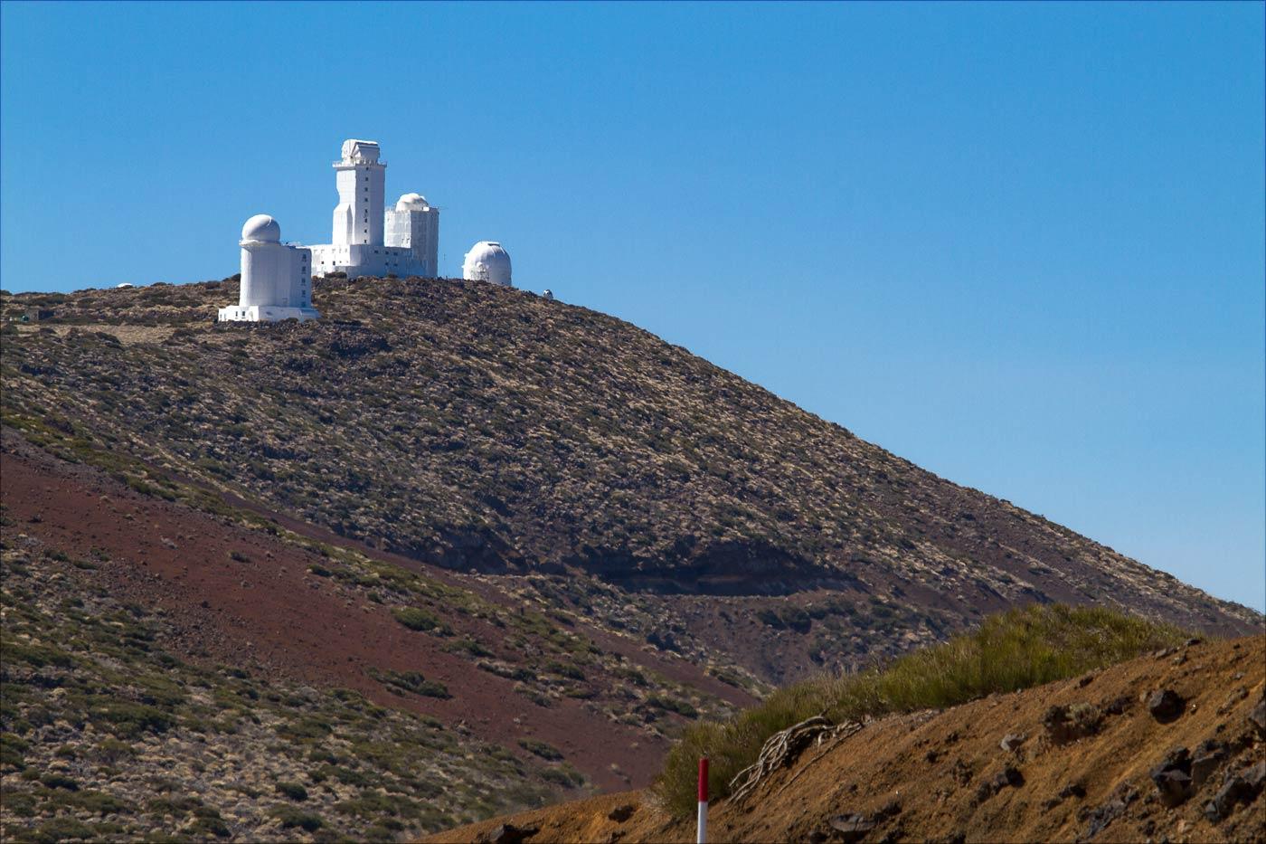 Астрономическая обсерватория на вулкане Тейде