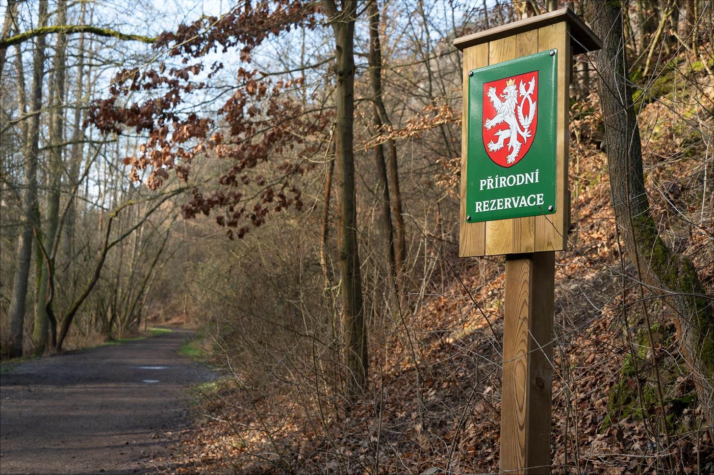 Прогулочный маршрут Тихое удолье, Розтоки у Праги
