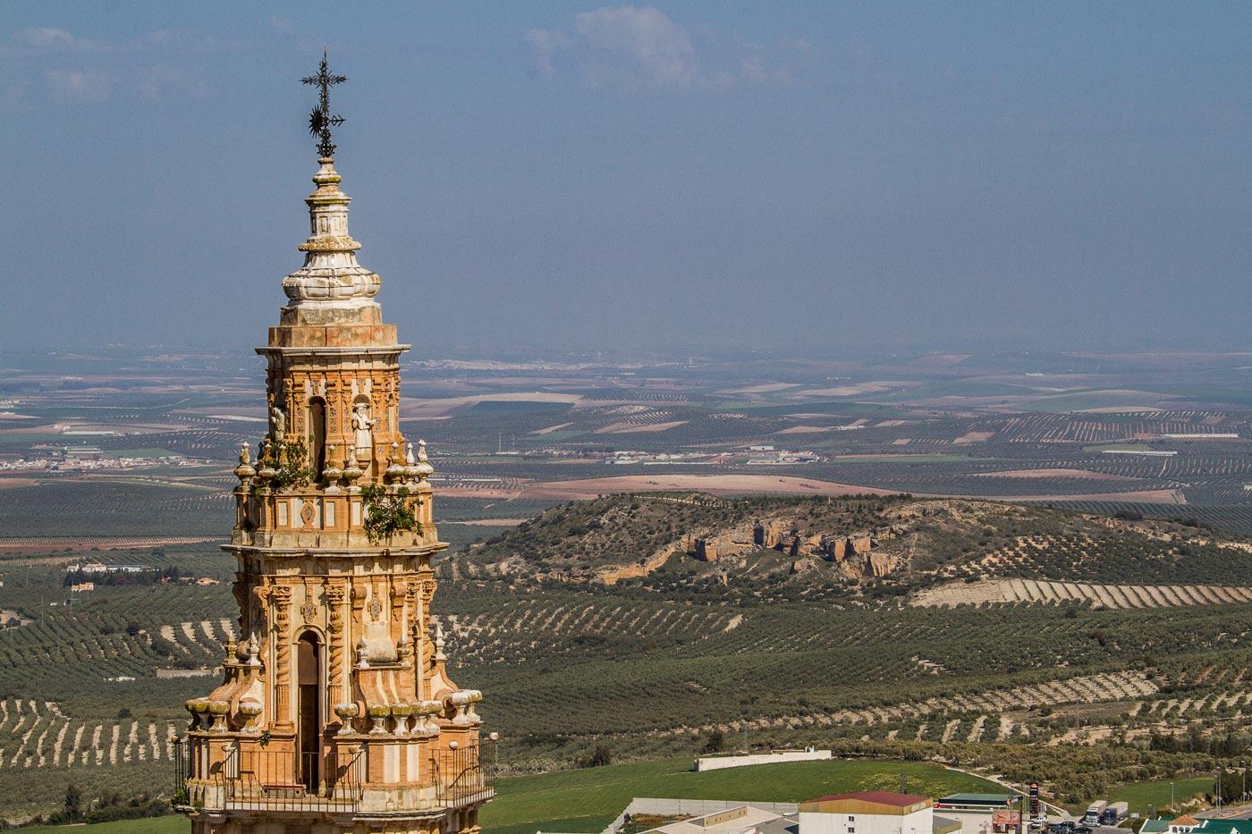 Андалусия, Эстепа, вид с крепости