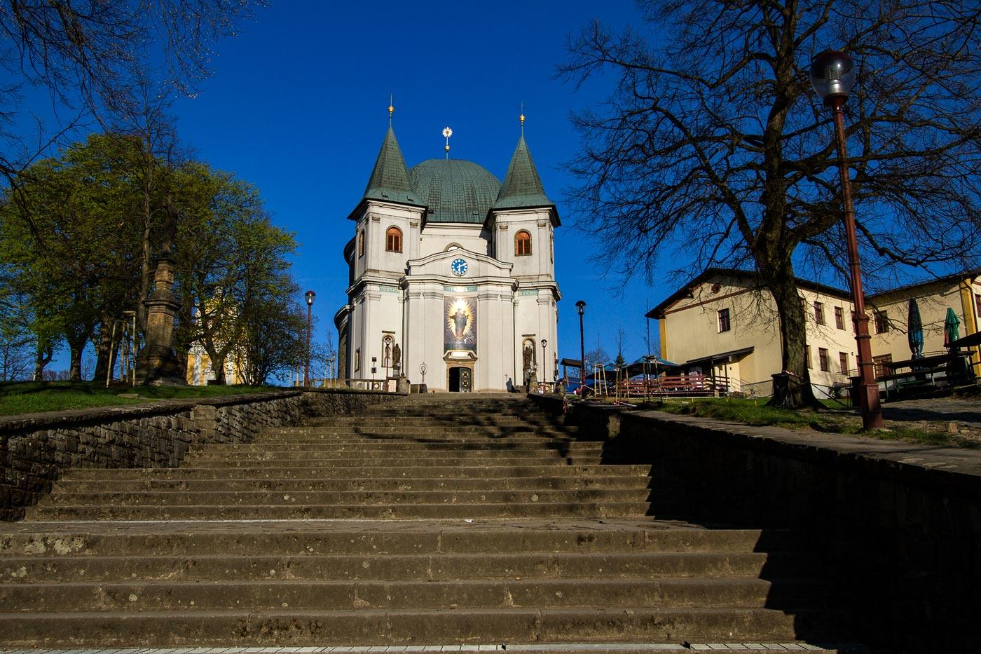 Базилика на горе Святой Гостин в Моравии