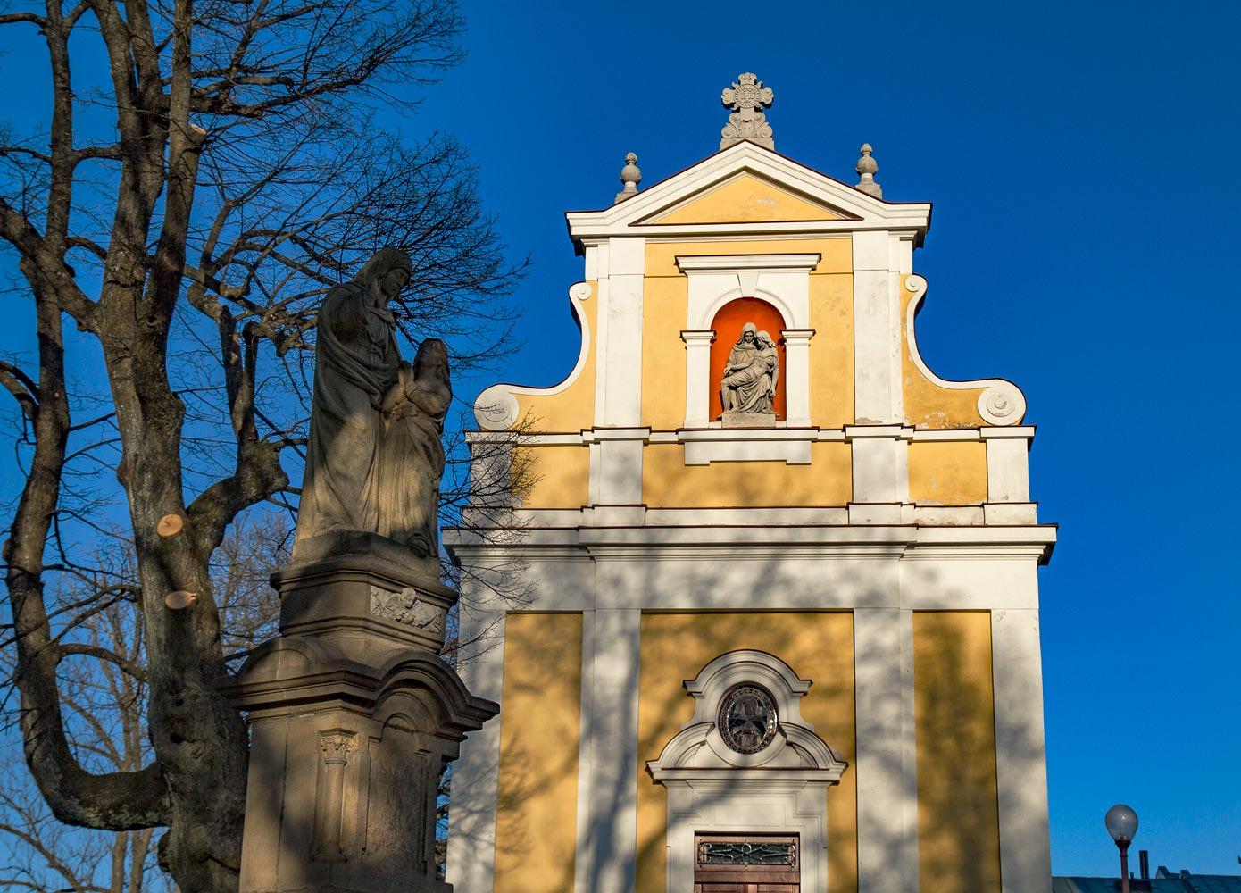 Паломническая гора Святой Гостин в Моравии
