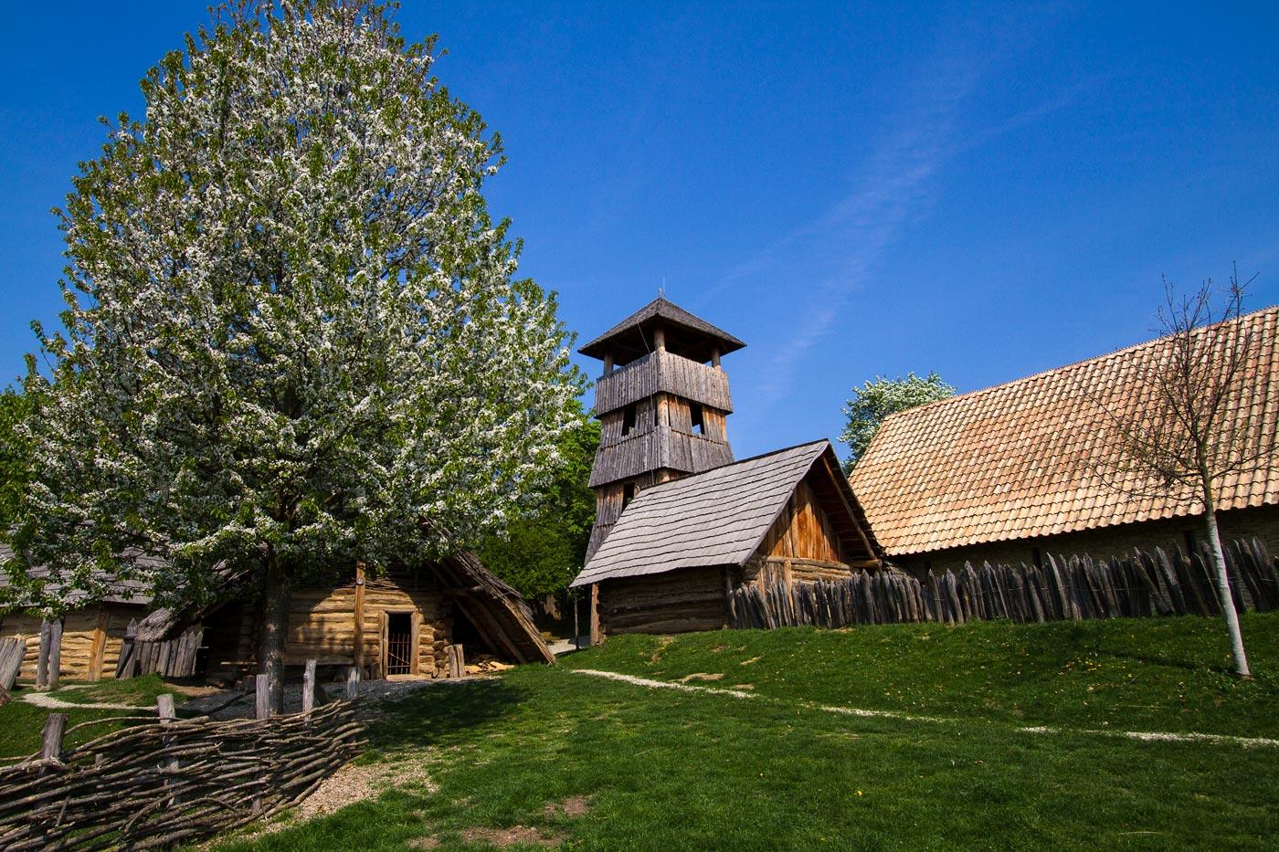 Модра - археологический и этнографический музей под открытым небом