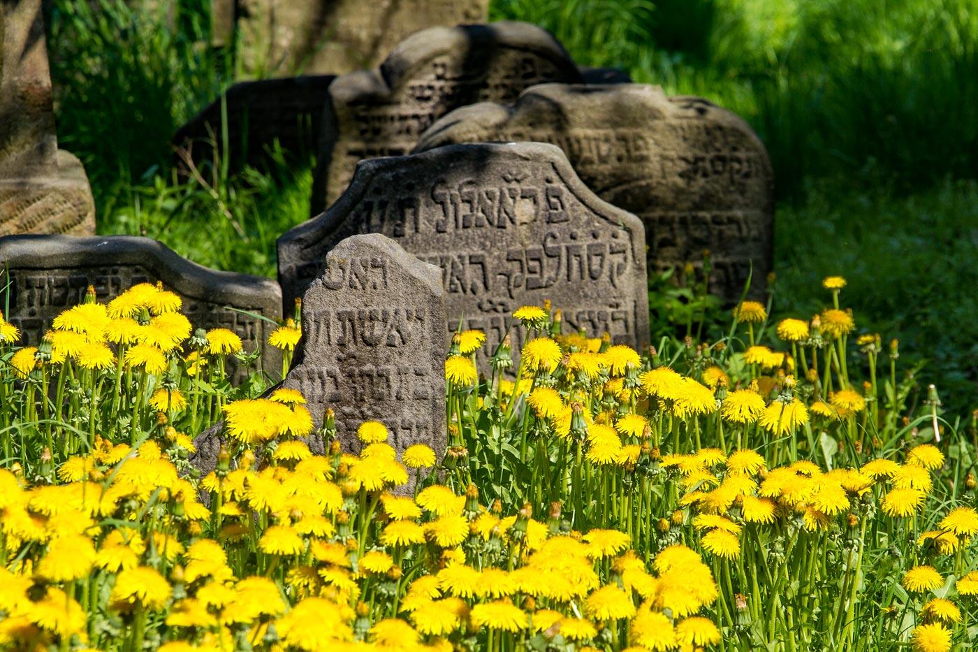 Еврейское кладбище в Турнове