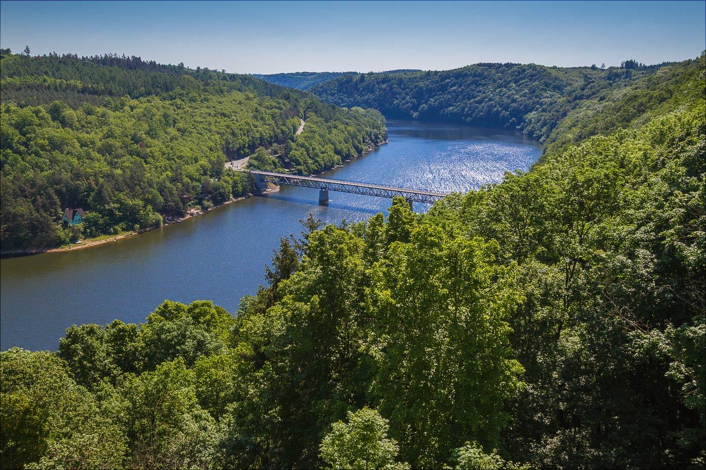 Река Дие, Южная Моравия