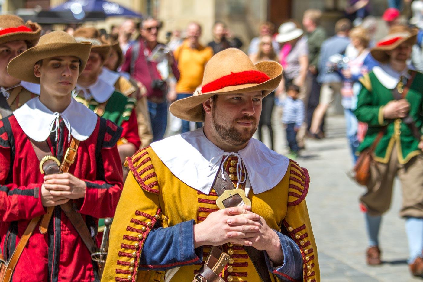 Костюмированный парад, Ротенбург на Таубере, Германия