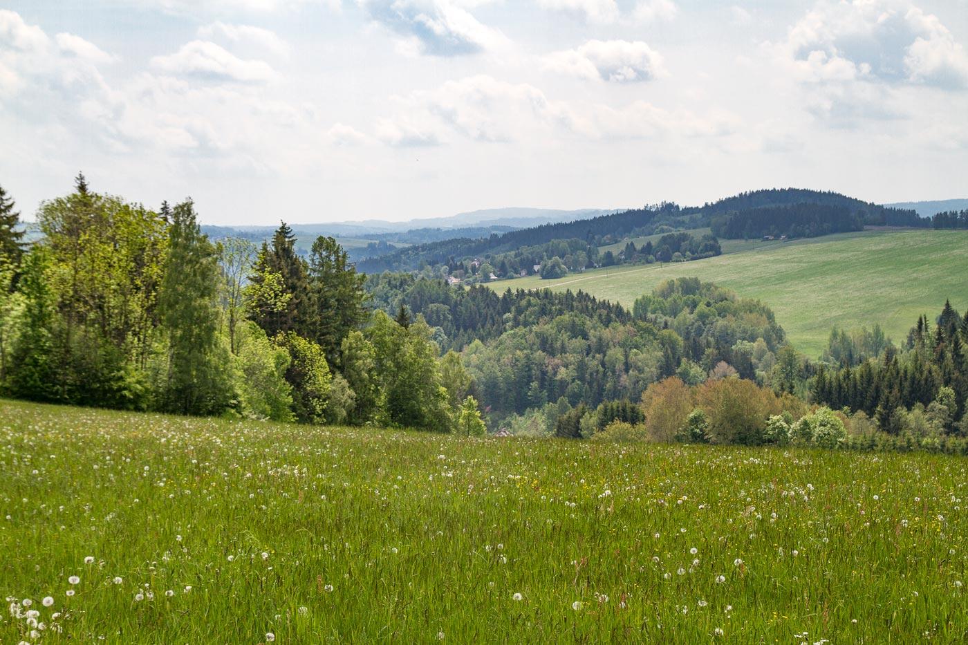 Прогулка в Северной Чехии возле Држкова
