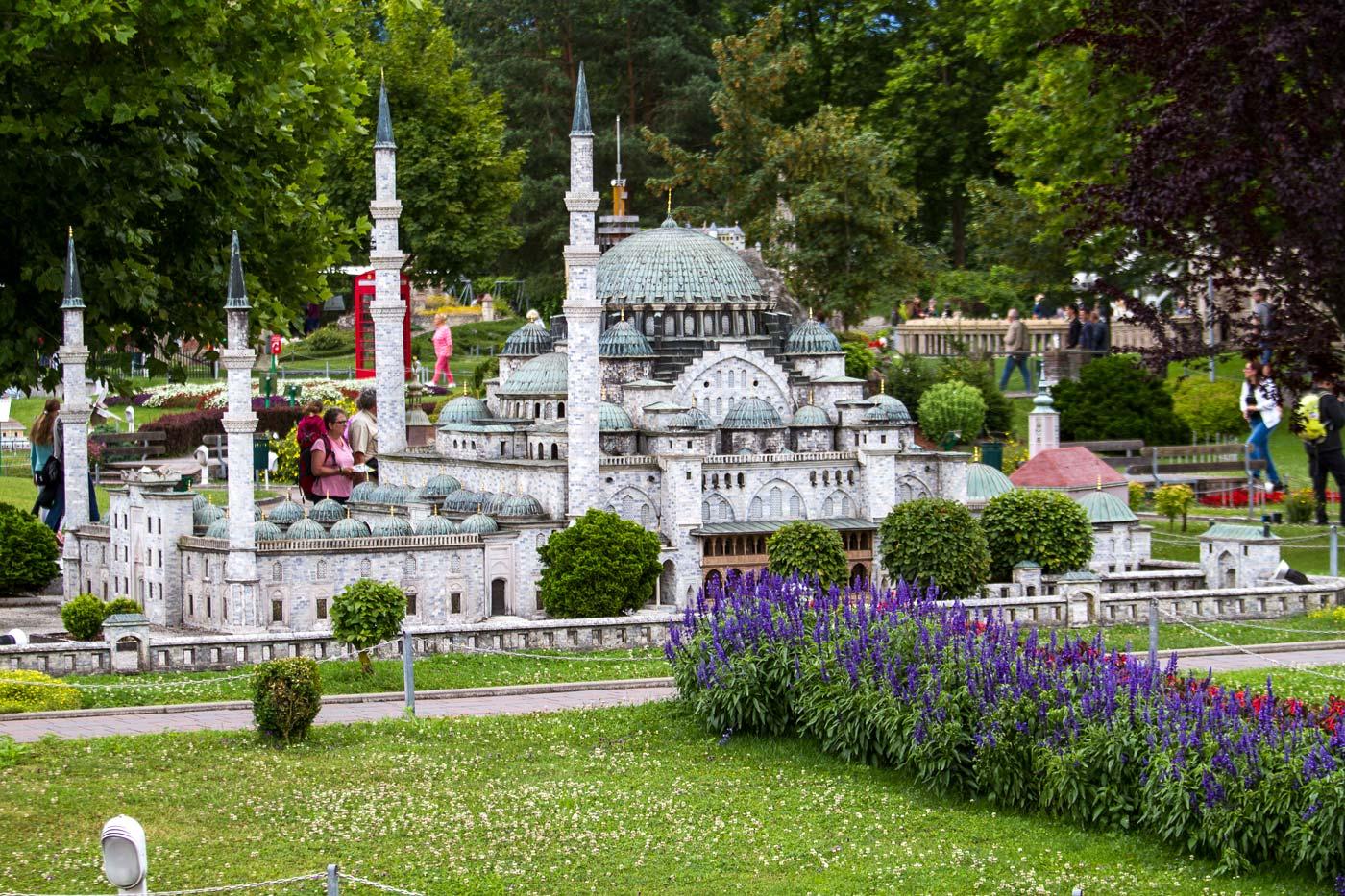 Минимундус - парк архитектурных и технических миниатюр, Каринтия, Австрия