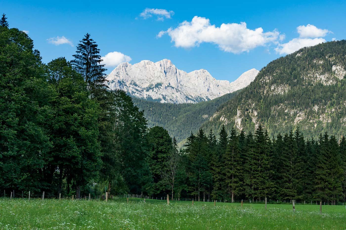 Горы вокруг долины Лофер, Австрия