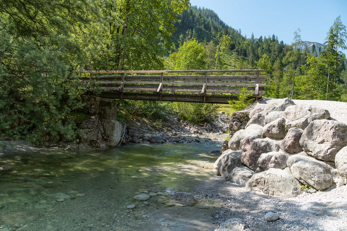 Горная река Залах, Австрия