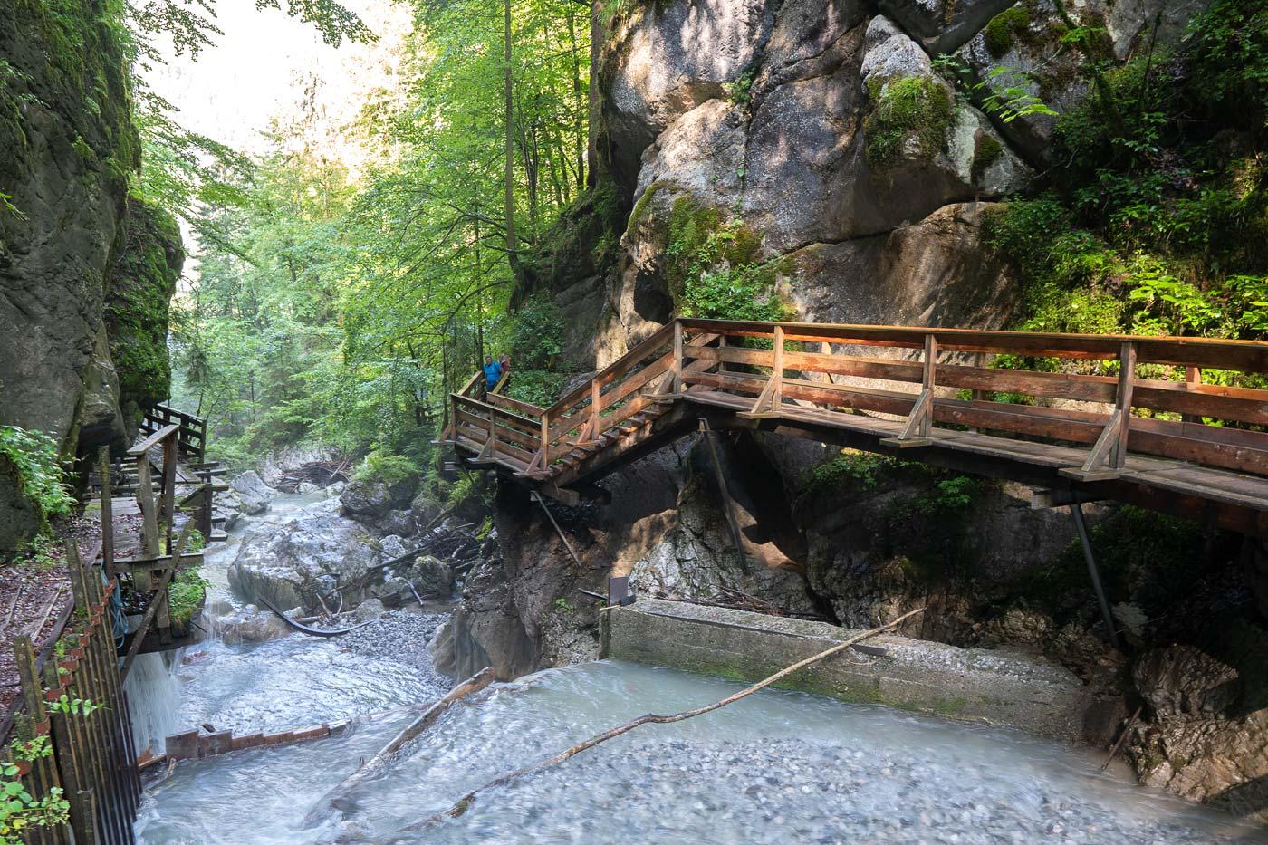 Ущелье Seisenbergklamm, долина Лофер, Австрия