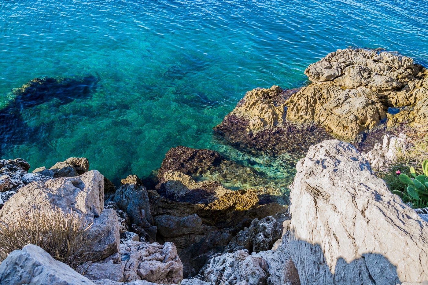 Прозрачная вода, Хорватия