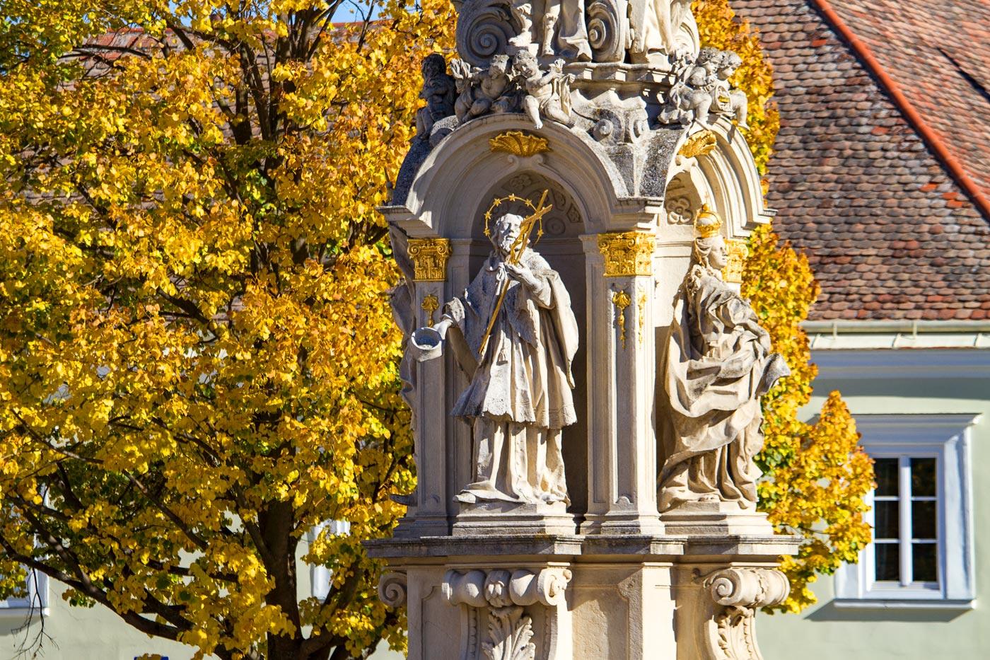 Рец (Retz), приграничная Австрия
