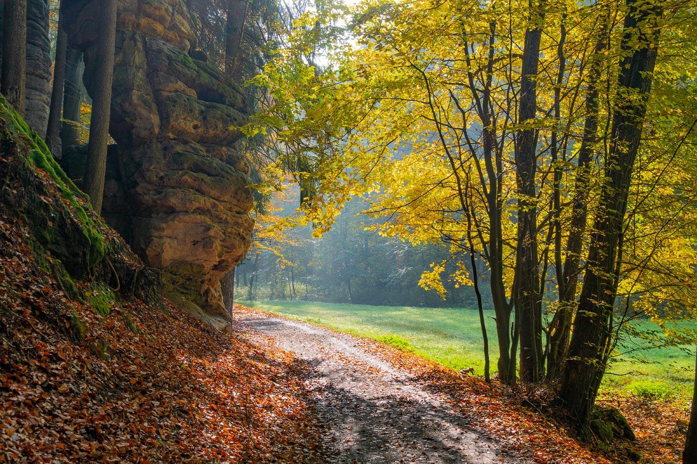 Природный заповедник Подтросецка удоли (Podtrosecká údolí)