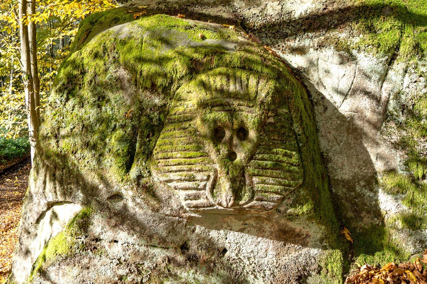 Скальные скульптуры, природный заповедник Подтросецка удоли