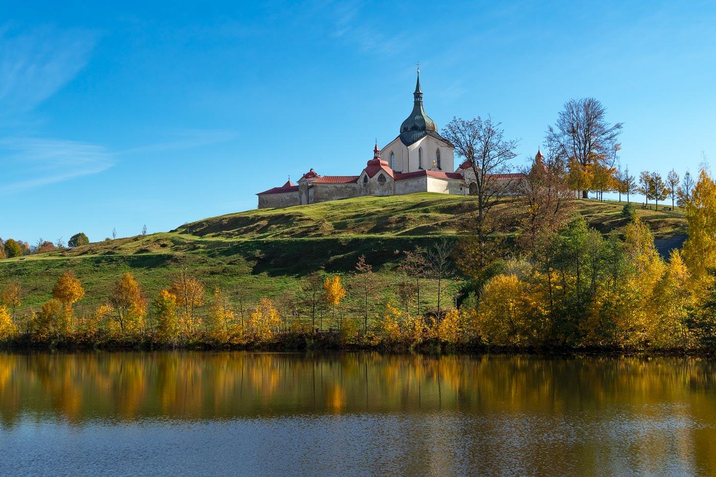 Паломнический костел Святого Яна Непомуцкого, Зелена Гора (Zelená hora)