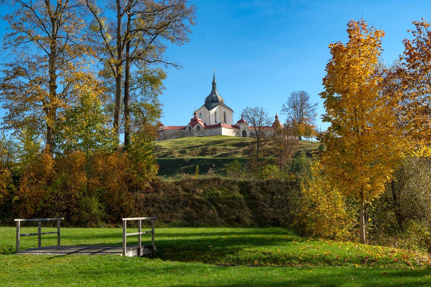 Паломнический костел Святого Яна Непомукского,  Зелена Гора (Zelená hora)