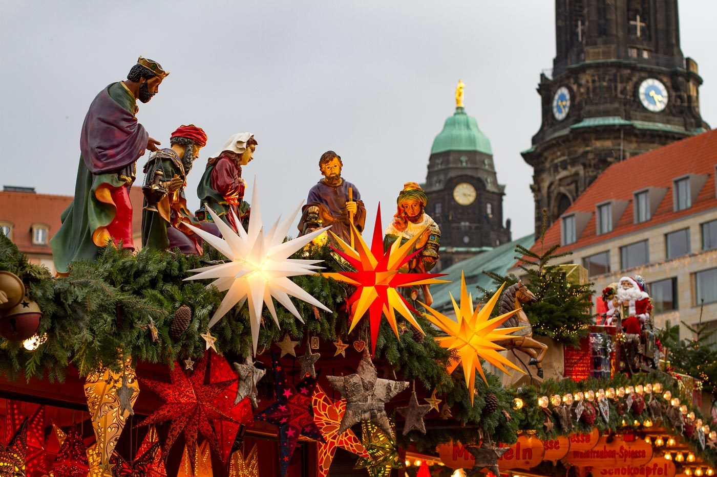 Адвентная ярмарка в Дрездене, Германия, 2013 год