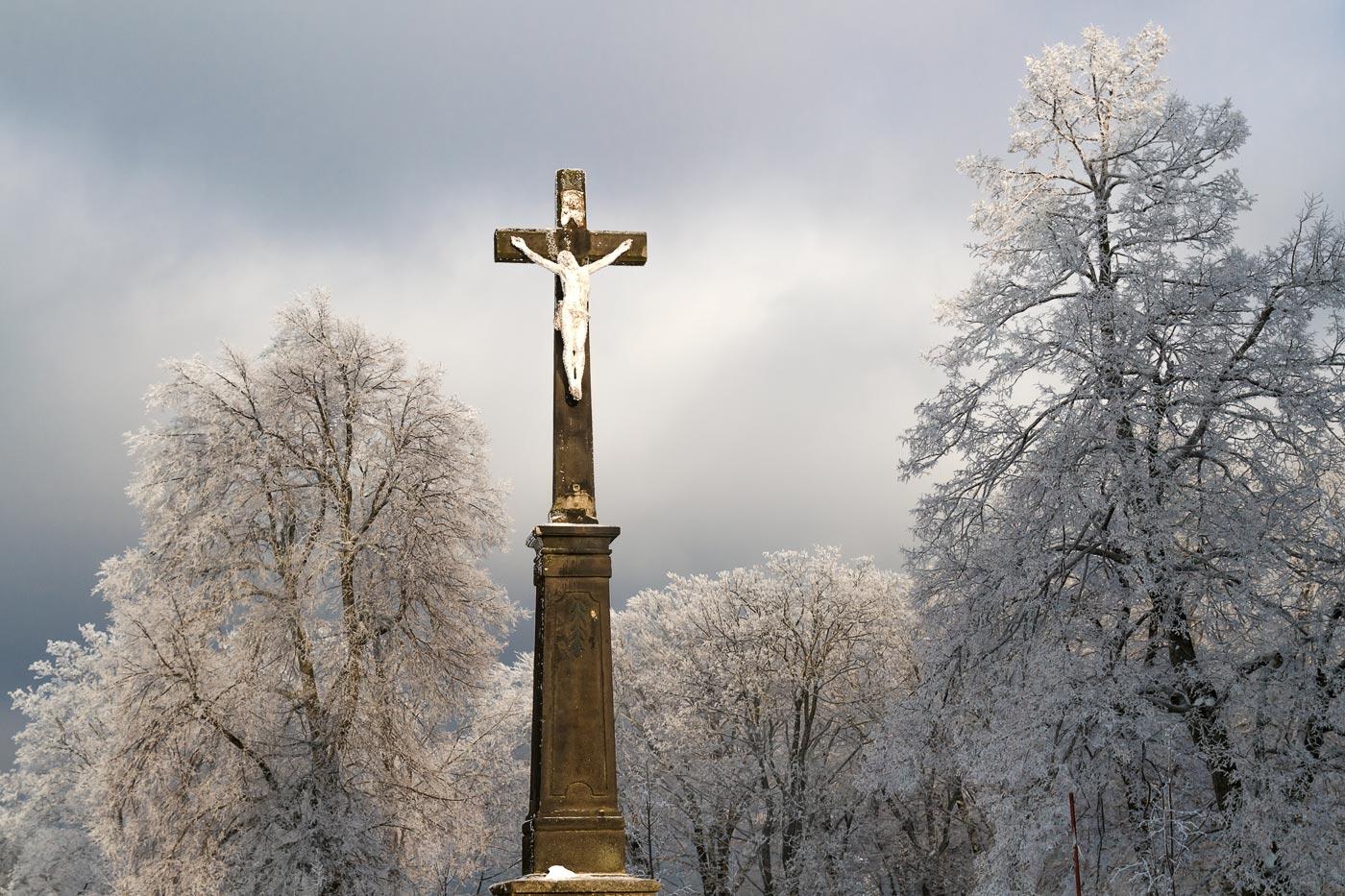 Распятие на горе Святой Гостин