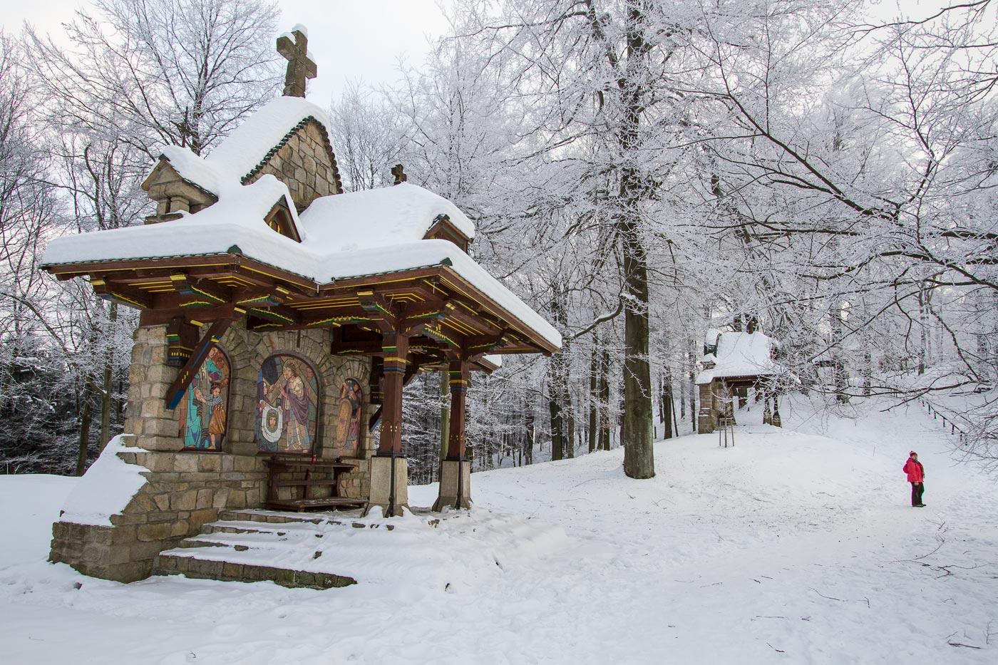 Крестный путь на горе Святой Гостин