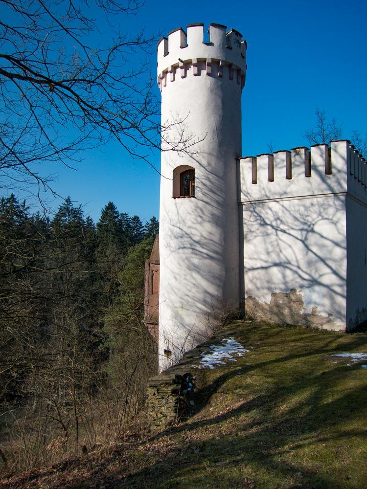 В парке у Влашимского замка