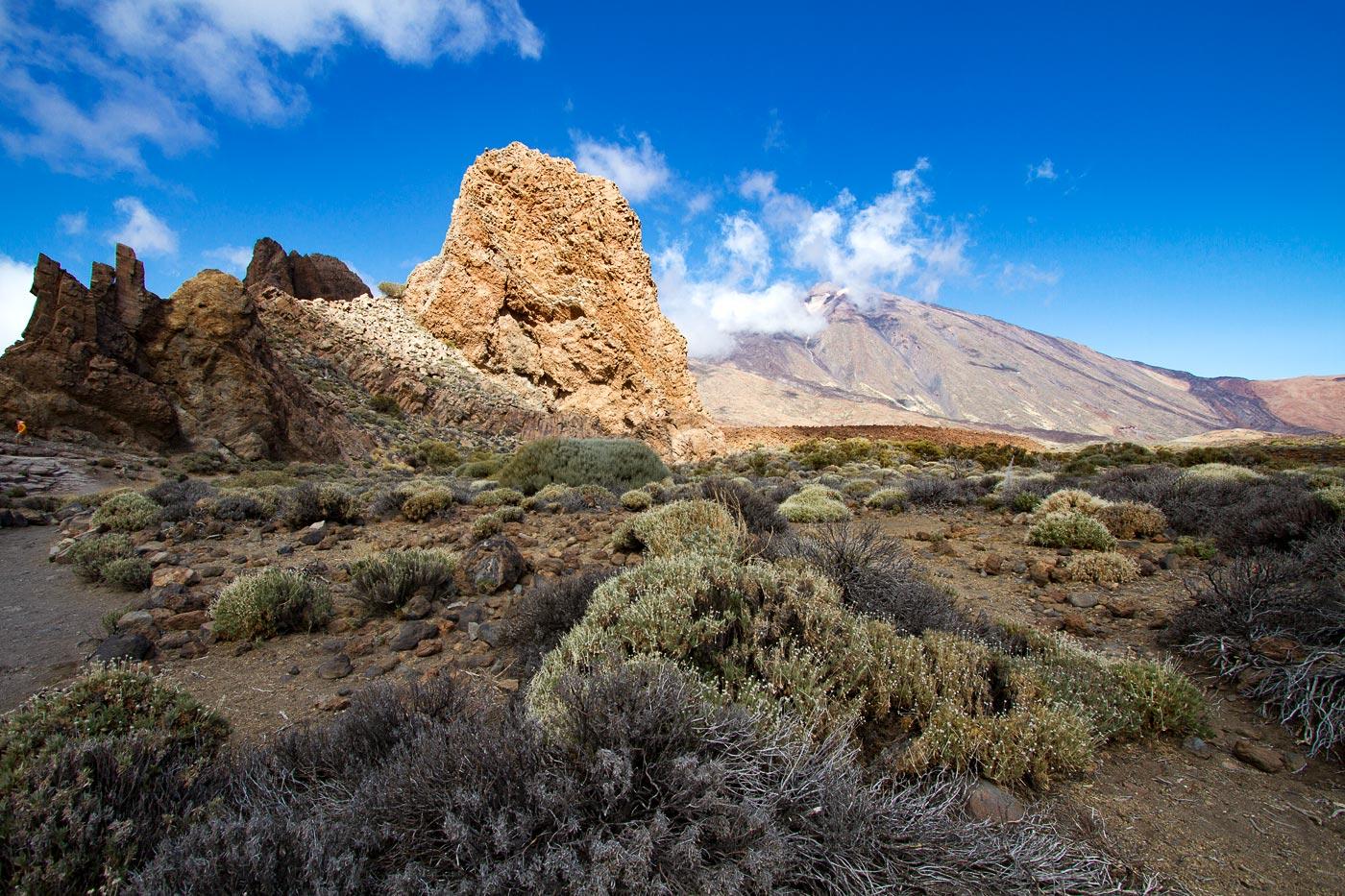 Прогулка в кальдере вулкана Тейде на острове Тенерифе