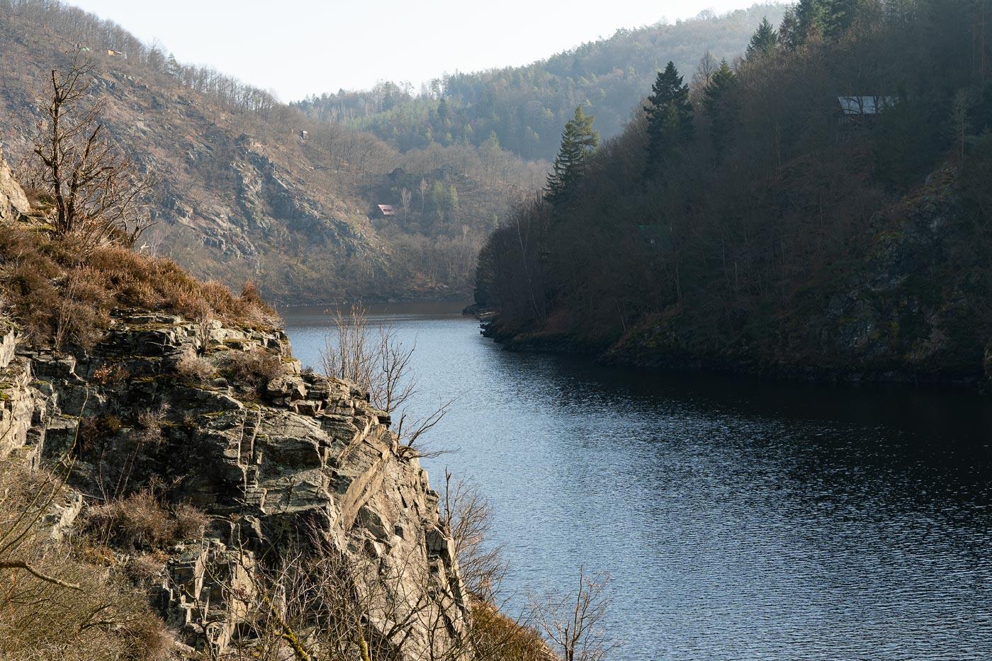 Прогулка вдоль Влтавы по природной резервации Кобыли драга