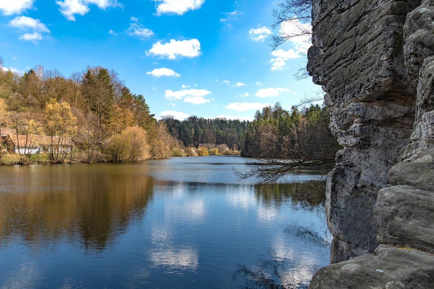 Озера в природной резервации Подтросецка удоли